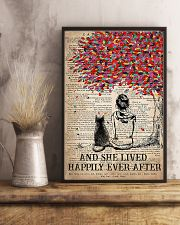 Cat And She Lived Happily Ever After Vertical 16x24 Poster lifestyle-poster-3