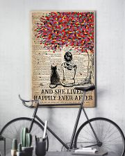 Cat And She Lived Happily Ever After Vertical 16x24 Poster lifestyle-poster-7