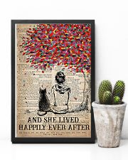 Cat And She Lived Happily Ever After Vertical 16x24 Poster lifestyle-poster-8
