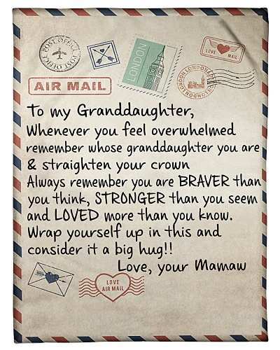 the letter- MAMAW