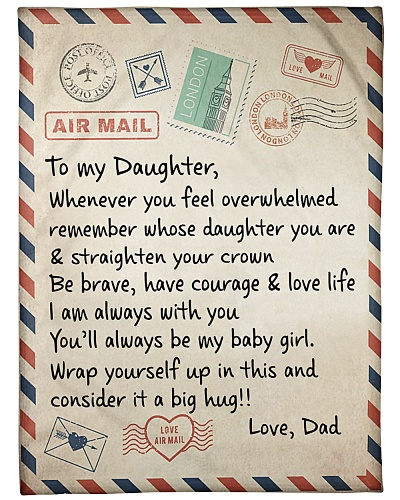 the letter-DAD