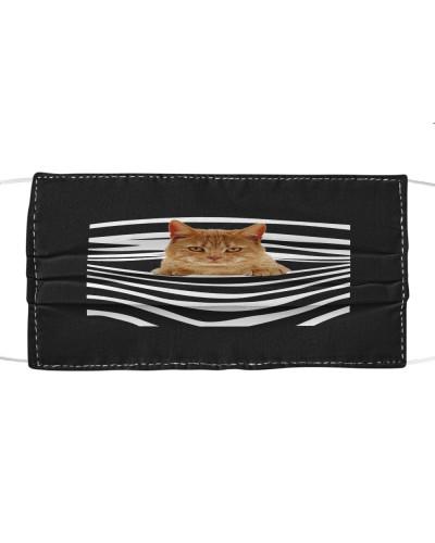 American Shorthair Cat Stripes FM Mask