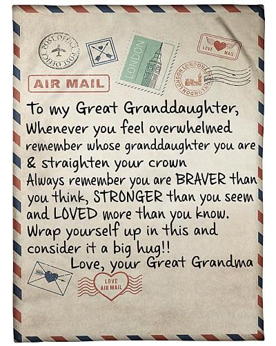 the letter- 2GREAT GRANDMA
