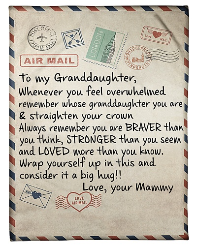 the letter- MAMMY