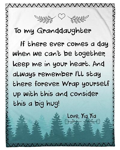 TO MY GRANDDAUGHTER-YIA YIA