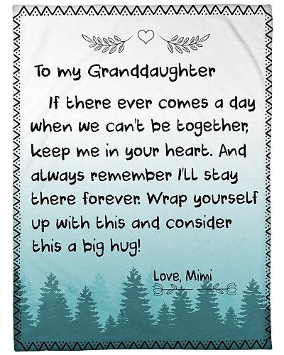 TO MY GRANDDAUGHTER-MIMI
