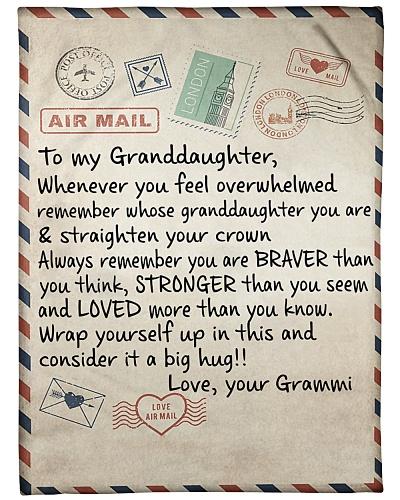 the letter- GRAMMI