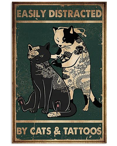 Cats And Tattoos Vertical