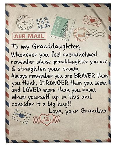 the letter- GRANDMA