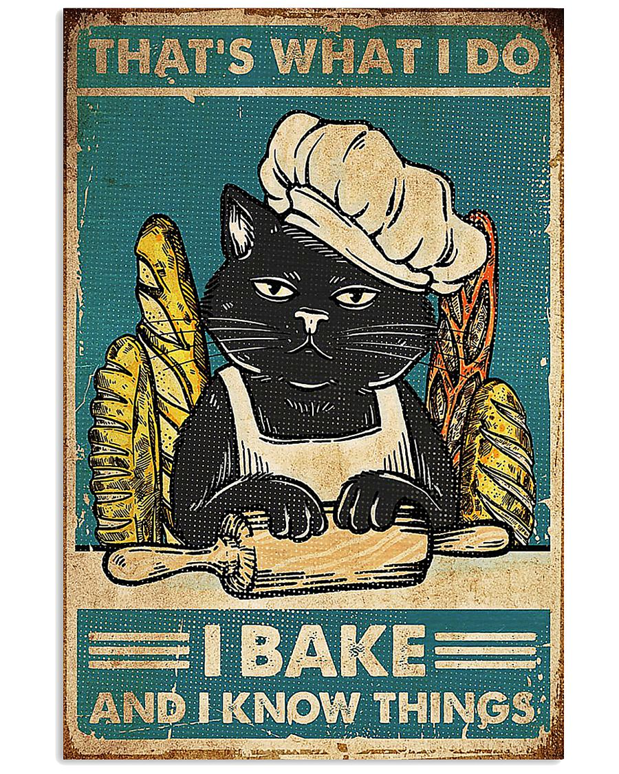 CAT POSTER 8 16x24 Poster