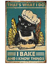 CAT POSTER 8 16x24 Poster front