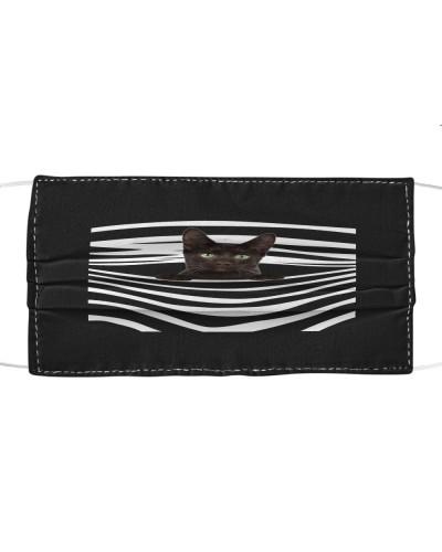 Havana Brown Cat Stripes FM Mask