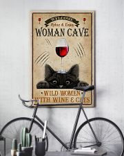 Wine And Cats Vertical 1 16x24 Poster lifestyle-poster-7