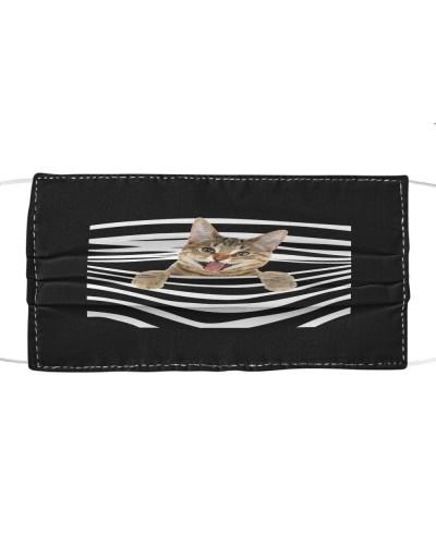 Bengal Cat Stripes FM Mask