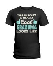 This Is What A REALLY Cool Grandma Looks Like  Ladies T-Shirt thumbnail