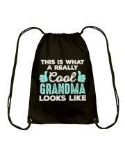 This Is What A REALLY Cool Grandma Looks Like  Drawstring Bag thumbnail