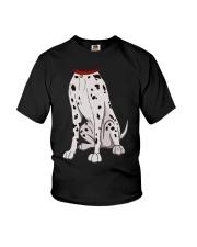Dalmatian Costume T-Shirt for Halloween Dog Animal Youth T-Shirt thumbnail