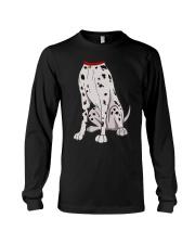 Dalmatian Costume T-Shirt for Halloween Dog Animal Long Sleeve Tee thumbnail