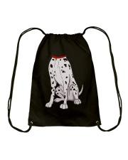 Dalmatian Costume T-Shirt for Halloween Dog Animal Drawstring Bag thumbnail