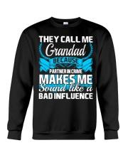 They Call Me Grandad Partner In Crime Funny Tshirt Crewneck Sweatshirt thumbnail