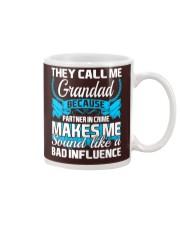 They Call Me Grandad Partner In Crime Funny Tshirt Mug thumbnail