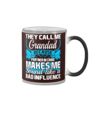 They Call Me Grandad Partner In Crime Funny Tshirt Color Changing Mug thumbnail