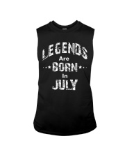 Legends Are Born In July Long Sleeve T-Shirt Sleeveless Tee thumbnail
