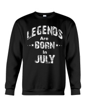 Legends Are Born In July Long Sleeve T-Shirt Crewneck Sweatshirt thumbnail