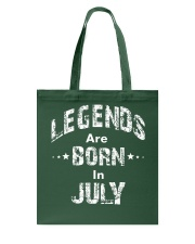 Legends Are Born In July Long Sleeve T-Shirt Tote Bag thumbnail