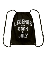 Legends Are Born In July Long Sleeve T-Shirt Drawstring Bag thumbnail