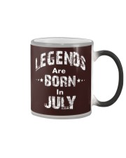 Legends Are Born In July Long Sleeve T-Shirt Color Changing Mug thumbnail