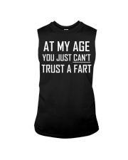 At My Age You Just Can't Trust a Fart Funny TShirt Sleeveless Tee thumbnail
