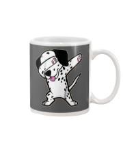 Funny Cool Dabbing Dalmatian Dog T-Shirt Mug thumbnail