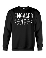 Engaged AF T-Shirt - Engagement Bridal Wedding Crewneck Sweatshirt thumbnail