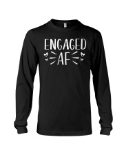 Engaged AF T-Shirt - Engagement Bridal Wedding Long Sleeve Tee thumbnail