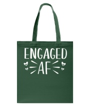 Engaged AF T-Shirt - Engagement Bridal Wedding Tote Bag thumbnail