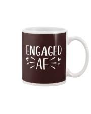 Engaged AF T-Shirt - Engagement Bridal Wedding Mug thumbnail