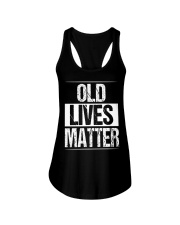 Birthday Gifts For Men Old Lives Matter Shirt 60th Ladies Flowy Tank tile