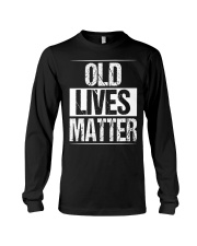 Birthday Gifts For Men Old Lives Matter Shirt 60th Long Sleeve Tee thumbnail