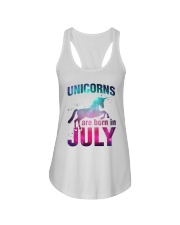 Unicorns Are Born in July T-Shirt Gift For July Qu Ladies Flowy Tank thumbnail