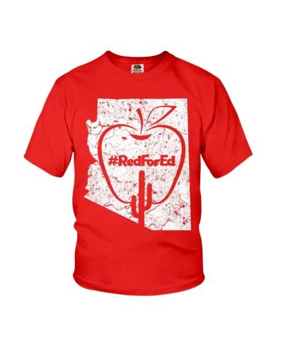 Vintage Red for Ed Arizona Teacher T-Shirt Women