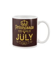 Princesses Are Born in July T-shirt Funny Birthday Mug tile