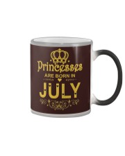 Princesses Are Born in July T-shirt Funny Birthday Color Changing Mug thumbnail