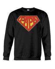 Super Papa Shirt Superhero Dad Daddy For Father Pa Crewneck Sweatshirt thumbnail