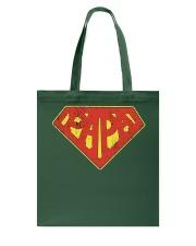 Super Papa Shirt Superhero Dad Daddy For Father Pa Tote Bag thumbnail