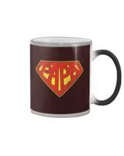 Super Papa Shirt Superhero Dad Daddy For Father Pa Color Changing Mug thumbnail