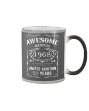 50th Birthday Shirt 50 Happy Fifty Years T-Shirt Color Changing Mug thumbnail