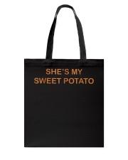 Shes My Sweet Potato Shirt Couple Shirts for Him  Tote Bag thumbnail