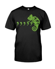 Comma Chameleon Music Parody T Shirt Classic T-Shirt front