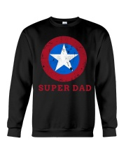 Super Dad T-Shirt Funny Superhero Father's Day Tsh Crewneck Sweatshirt thumbnail